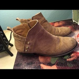 Franco Sarto Booties Leather boots Size 10